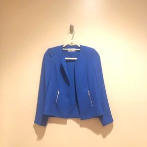 Calvin Klein blue blazer!